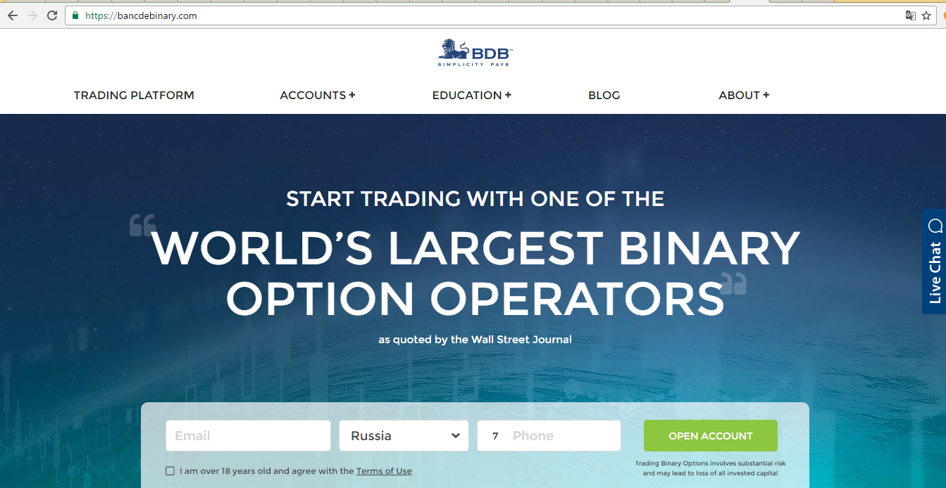 4xp binary options demo